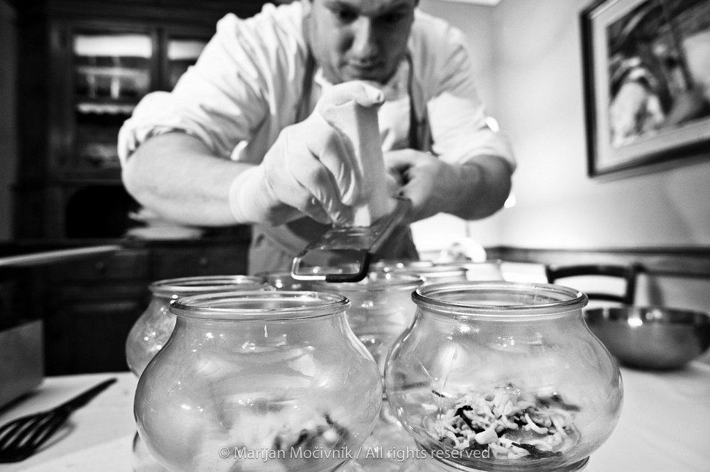 Denis Tommasini, Restaurant Pri Lovcu (Al cacciatore) - La subida, Cormons, Italia