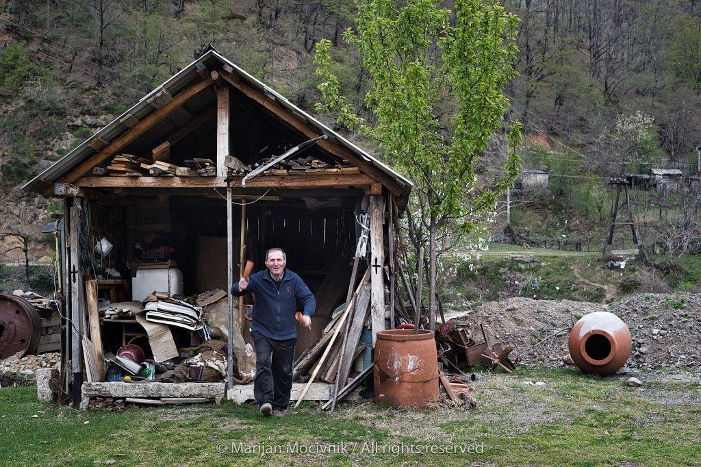 Zaliko Bozhadze, qvevri maker, Georgia