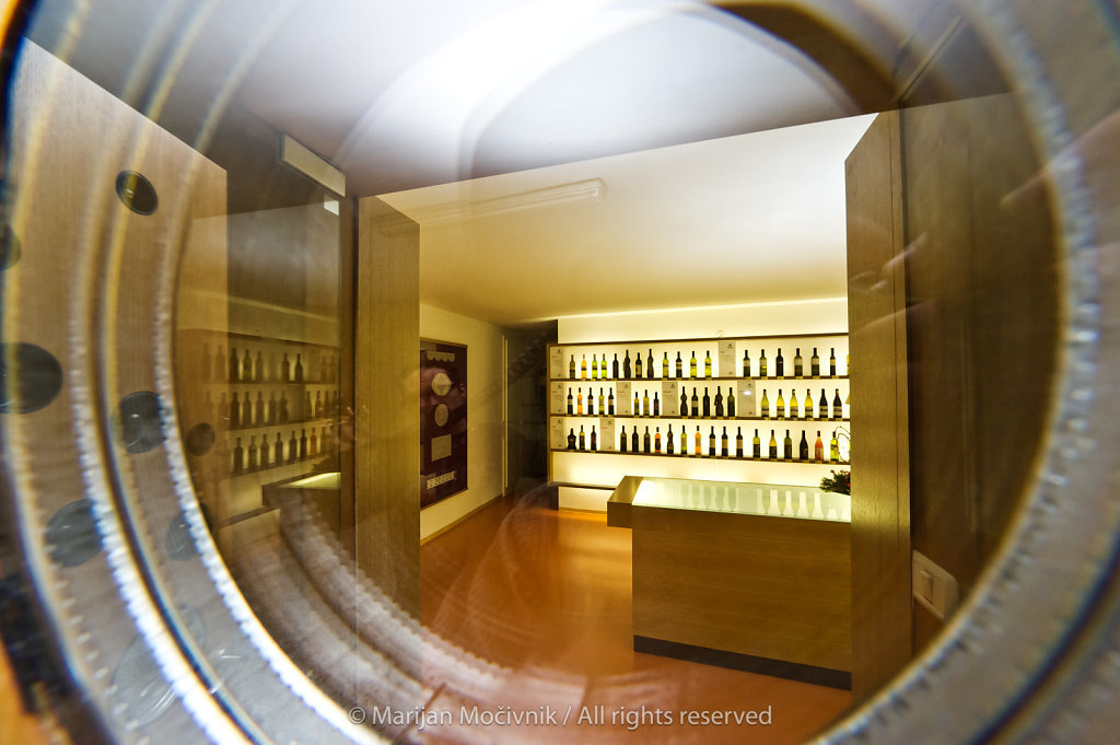 Wine shop, Vipava, Vipava Valley, Slovenia