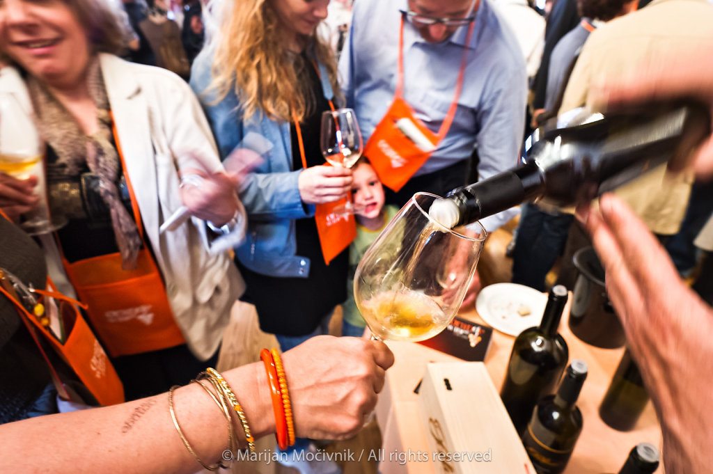 Orange (Amber) Wine Festival, Izola, Istra, Slovenia