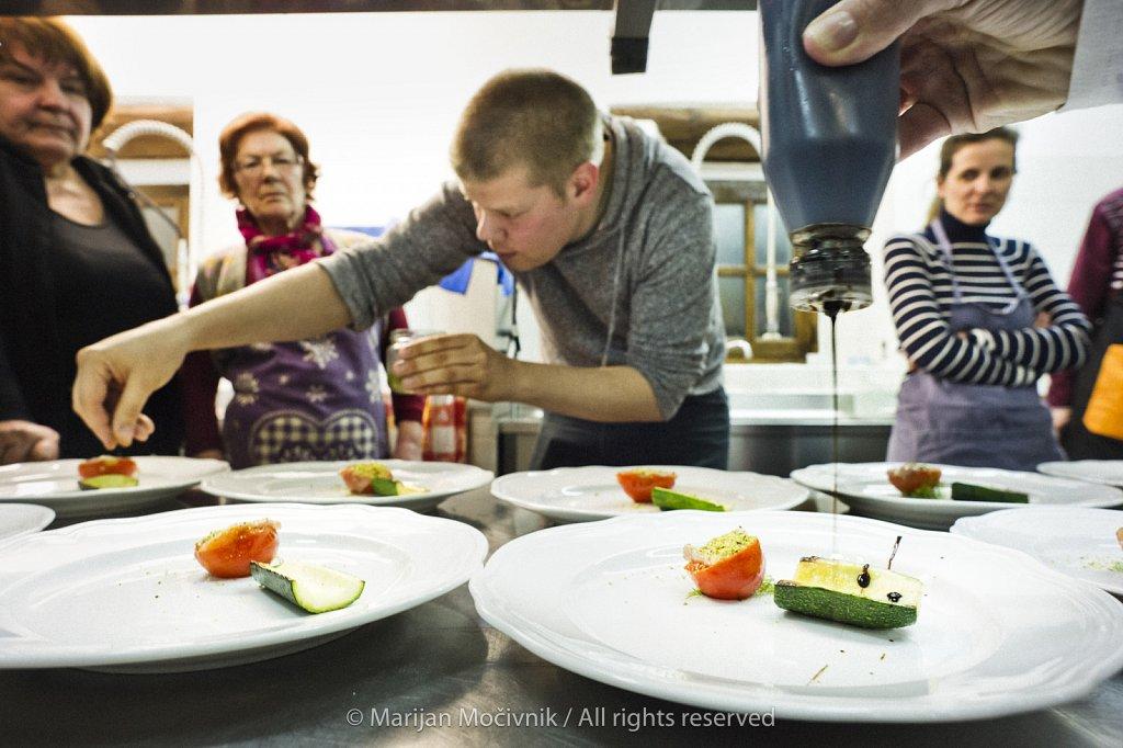 Cooking class, Majerija, Vipava Valley, Slovenia