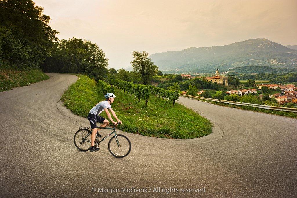 Vipavska - kolesarjenje