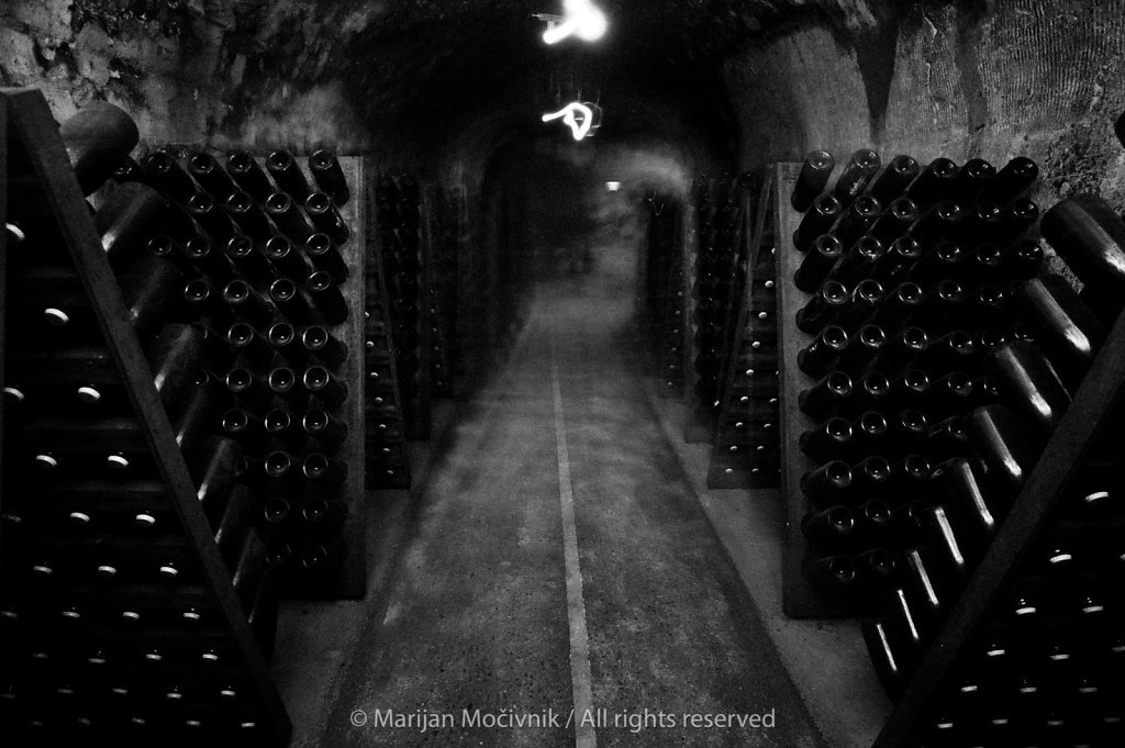 Moët & Chandon - Dom Perignon cellar, Epernay, Champagne, France