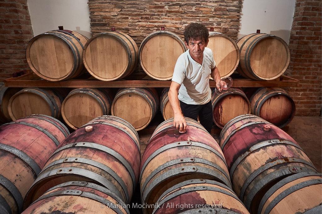 Boris Necev, Bovin Winery